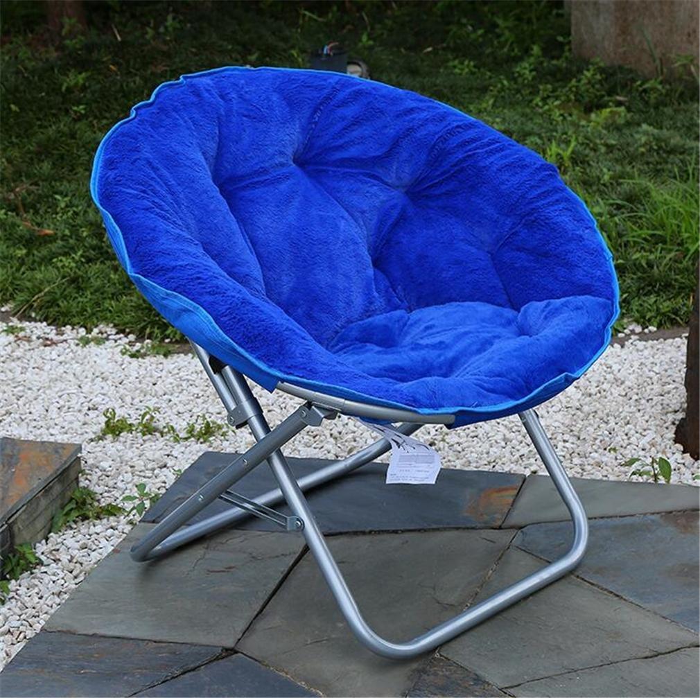 TTYY Mond Stuhl 2PCS Zusammenklappbar Indoor/Outdoor Freizeit Komfortabel (Bitte hinterlassen Sie eine Nachricht, benötigen)