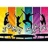 Einladung geburtstag jump house