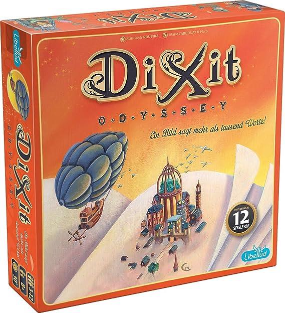 Asmodee - Dixit Odyssey, juego de cartas (Libellud 484975): DIXIT Odyssey: Amazon.es: Juguetes y juegos