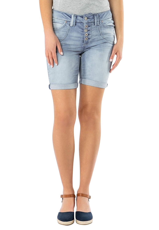 Pantaloni Corti in Denim per l/'Estate Urban Surface Bermuda di Jeans da Donna