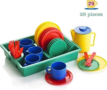 Kiddy Play Servizio stoviglie per Bambini 29 Pezzi