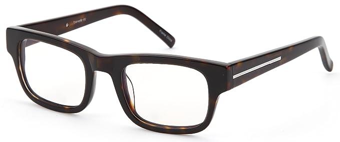 Amazon.com: Thick Wayfarer Prescription Eyeglasses Frames RX-able in ...