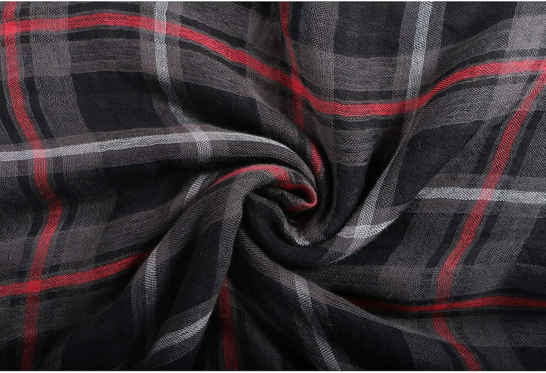 Knitted Women Scarf Plaid Warm Cotton Scarves Shawls Neck Bandana Pashmina Lady Wrap