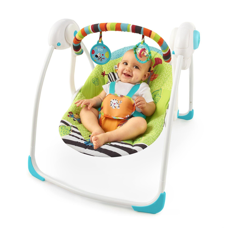 Bright Starts Babyschaukel Zoo Tails portable Amazon Baby