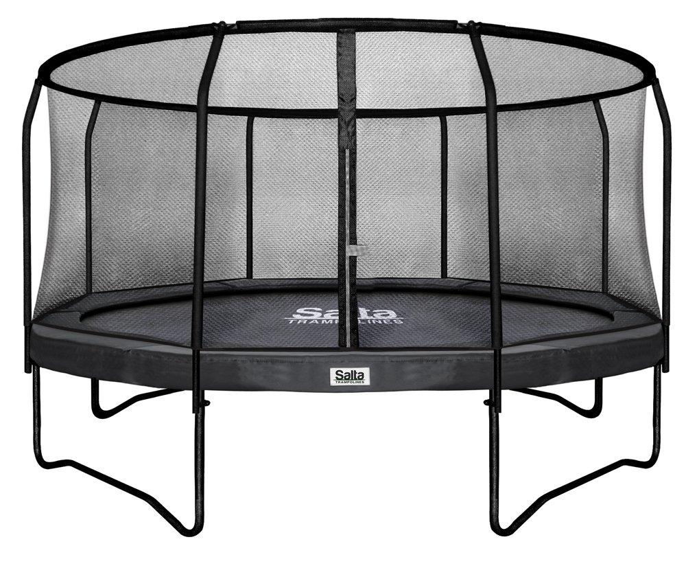 Salta 14 ft 427 cm Premium Edition Combo Trampolin (schwarz)