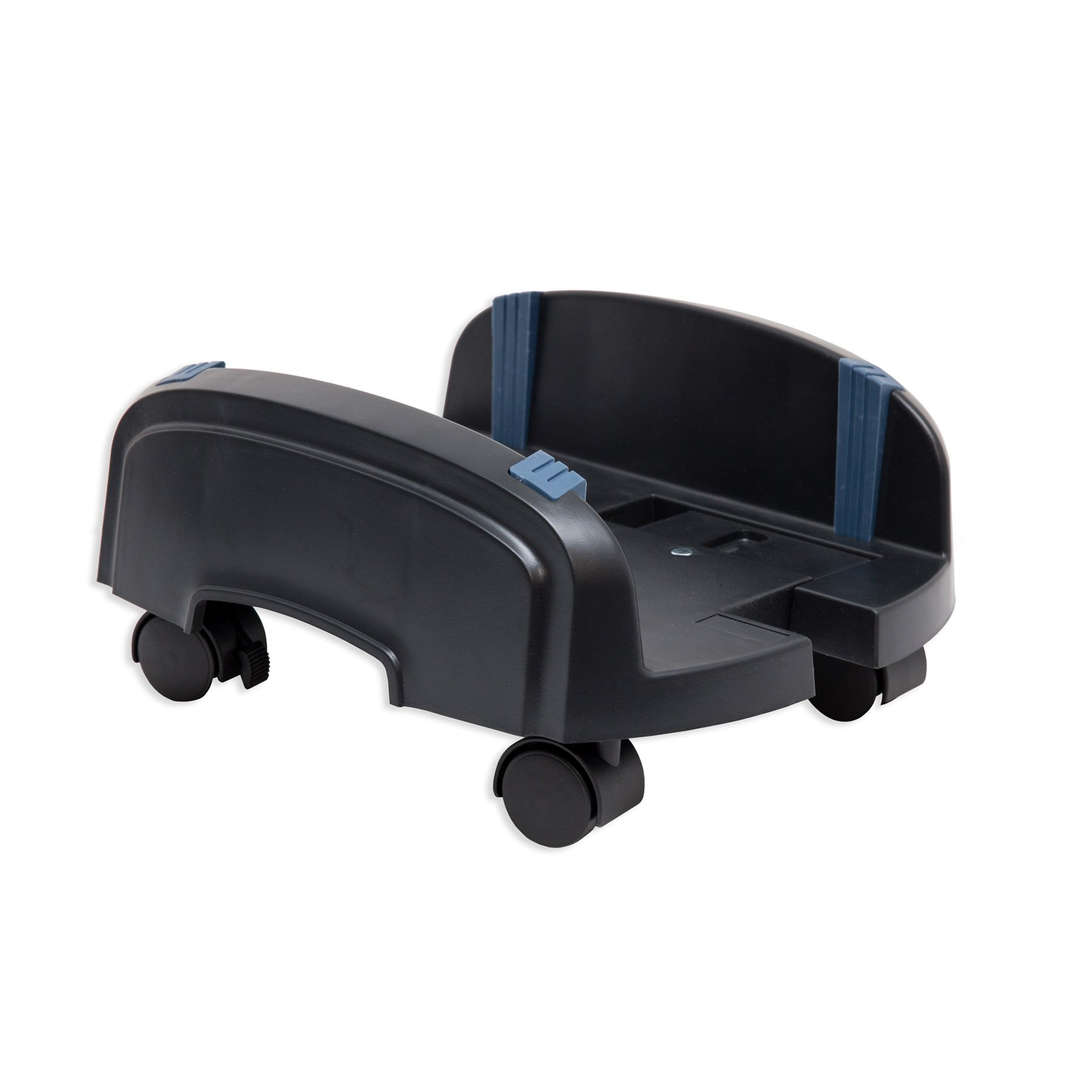 Syba Computer PC Stand for ATX Case with Adjustable Width 6.2'' to 10'' and 4 Caster Wheels, Hold up to 50 Lbs