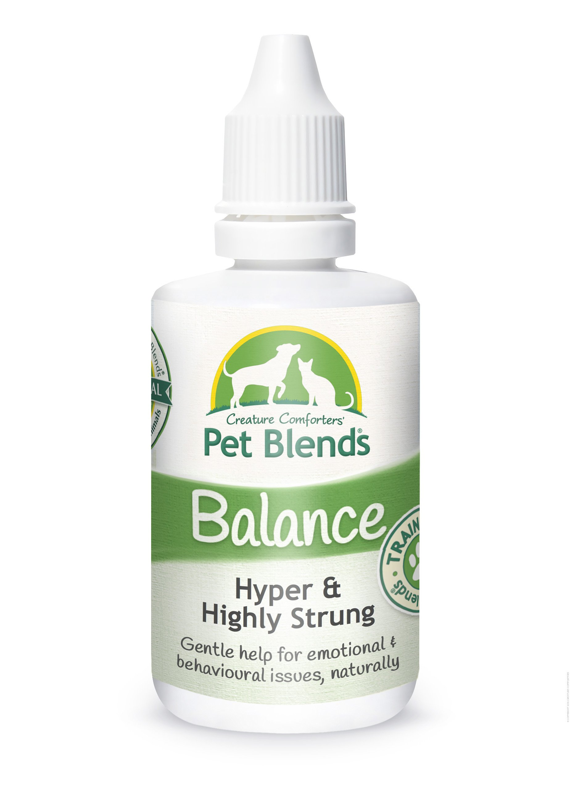 Pet Remedy for Highly Strung, Hyper, Excitable, Unruly and Training Animals. To Help Naturally Calm Dogs, Cats and Horses. The Original Balance Pet Blend Flower Essence 50ml