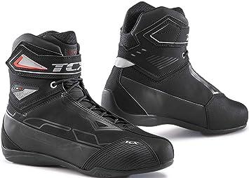 Nero//Giallo Fluo 38 TCX Stivali Moto Rush WP Nero//Giallo Fluo