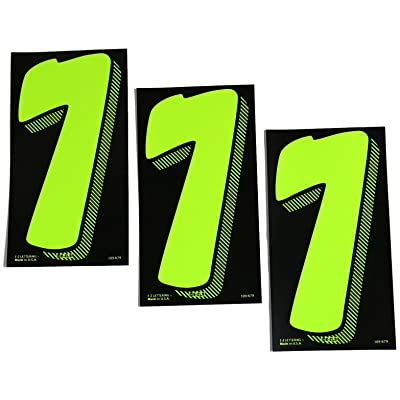7 1/2 Green Chartreuse Pricing Numbers for Car Dealers 3 Dozen (# 7\'s): Automotive [5Bkhe0809633]