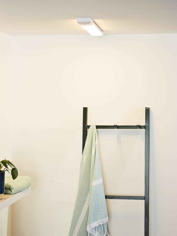 Lucide DEXTY Lámpara LED de techo para cuarto de baño, 18