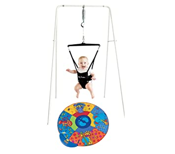 36ffddfec Amazon.com   Jolly Jumper On a Stand and Musical Play Mat   Baby