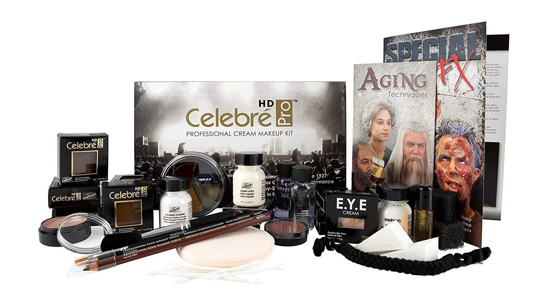 Mehron Makeup Celebre Pro Cream Kit TV Video
