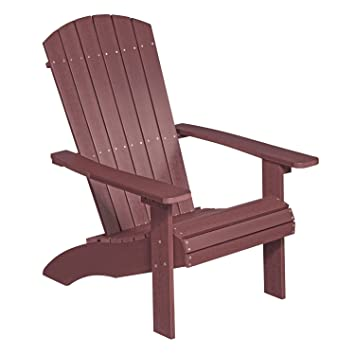 NEG Design Adirondack Stuhl MARCY (rot Braun) Westport Chair/Sessel Aus