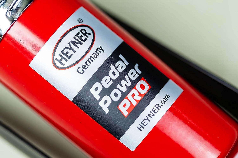 Bomba de Pedal con man/ómetro HEYNER Premium 7 Bares, 100 PSI