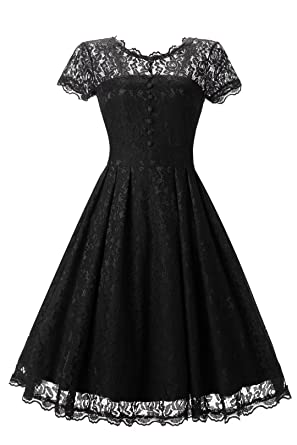 Star Finch Retro Floral Lace Prom Dresses Short Homecoming Dresses Cap Sleeves Vintage Cocktail Bridesmaid Dresses