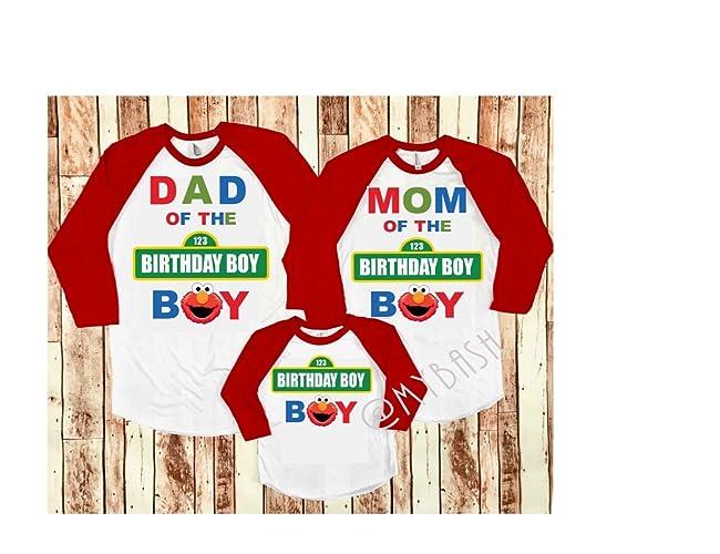 Amazon Sesame Elmo Birthday T Shirt