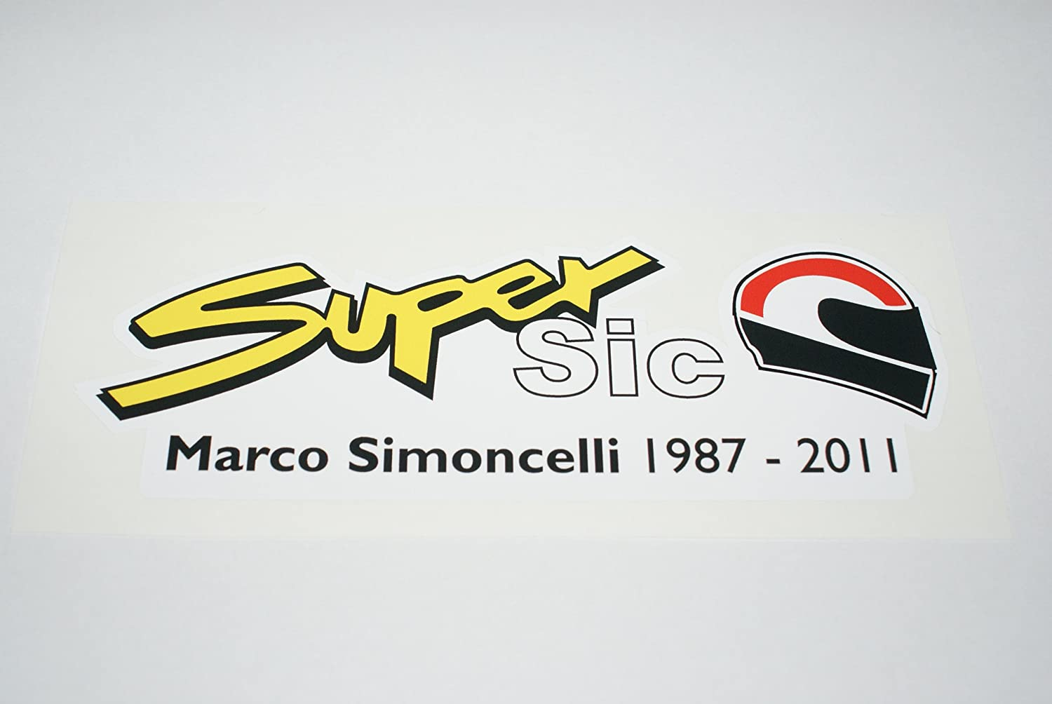 Rapro Graphics Marco Simoncelli Decal/Sticker .