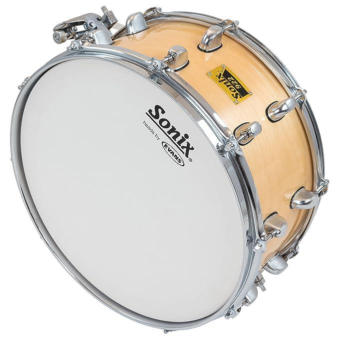 Percussion Plus pp922b-1465 14 x 6,5 SONIX Snare Drum – Birke ...