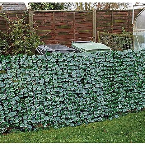 Edera Plastica Per Recinzioni.Finta Edera Recinzione Per Privacy Amazon It Giardino E Giardinaggio