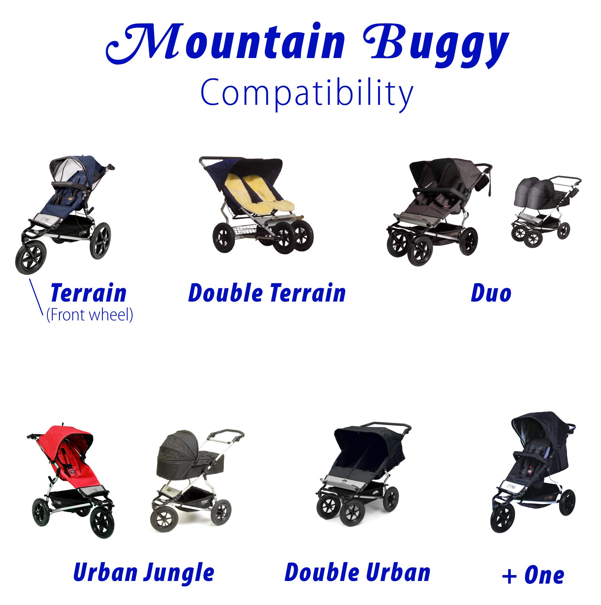 Inner Tube for Mountain Buggy (Double Urban) by Lineament (Image #2)