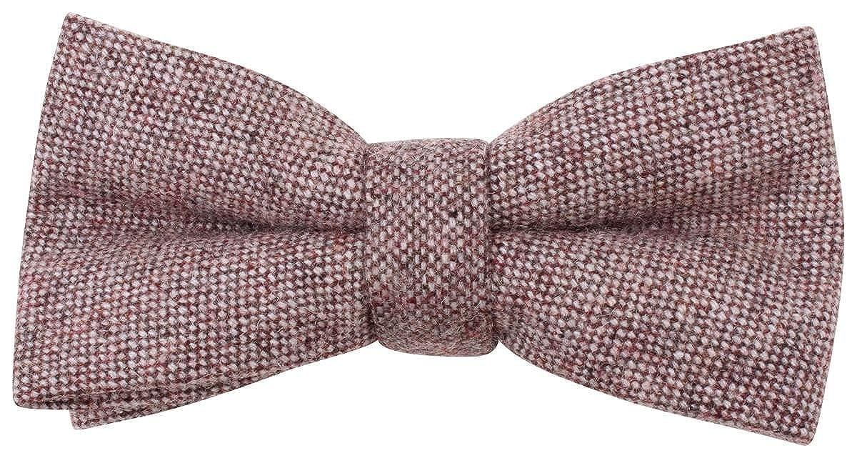 Knightsbridge Neckwear Mens Speckled Bow Tie Soft Pink