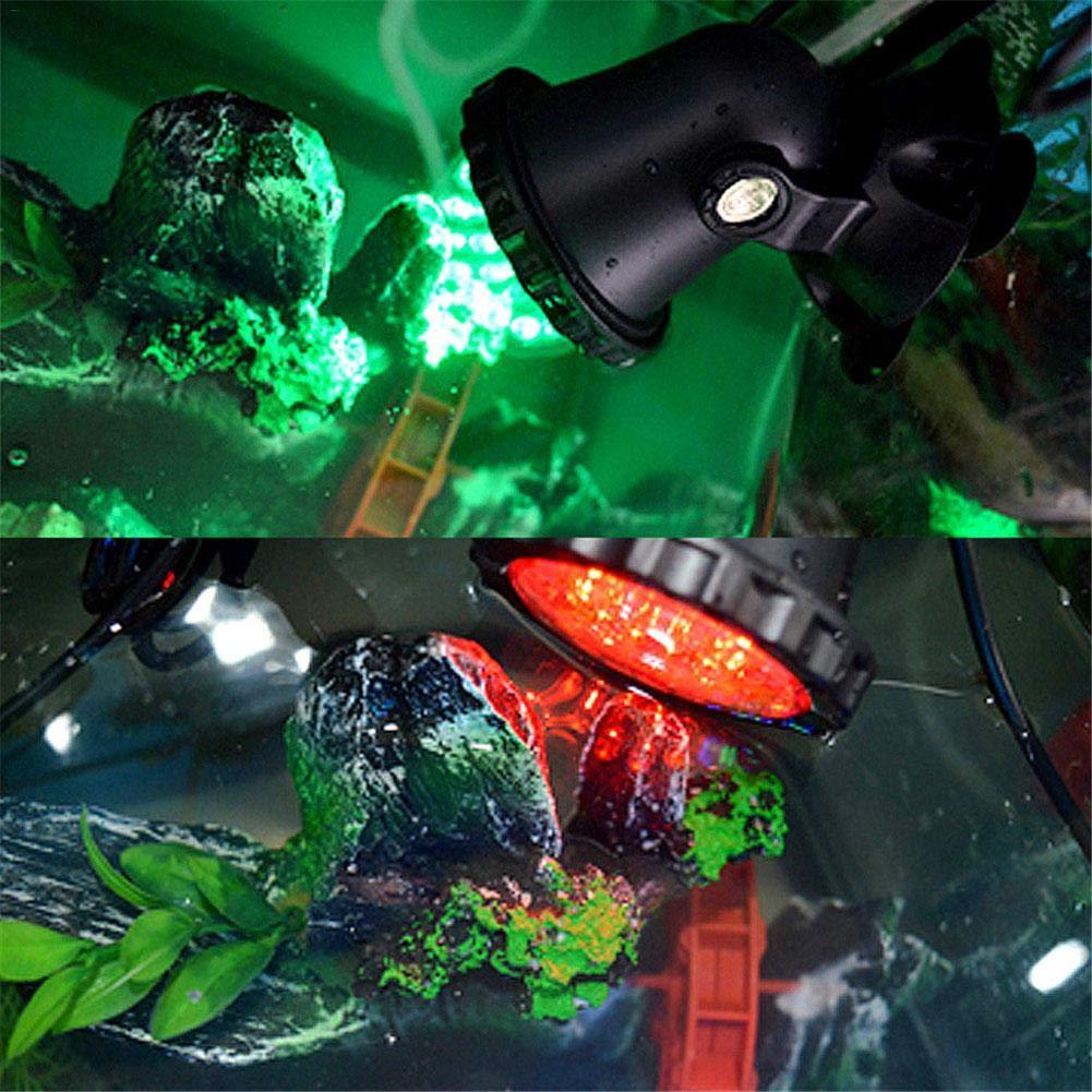 LED Pool Beleuchtung Spot Lampe RGB Unterwasser Wasserdicht Spot Licht 36 LEDs IP68 Licht f/ür Teich Aquarium