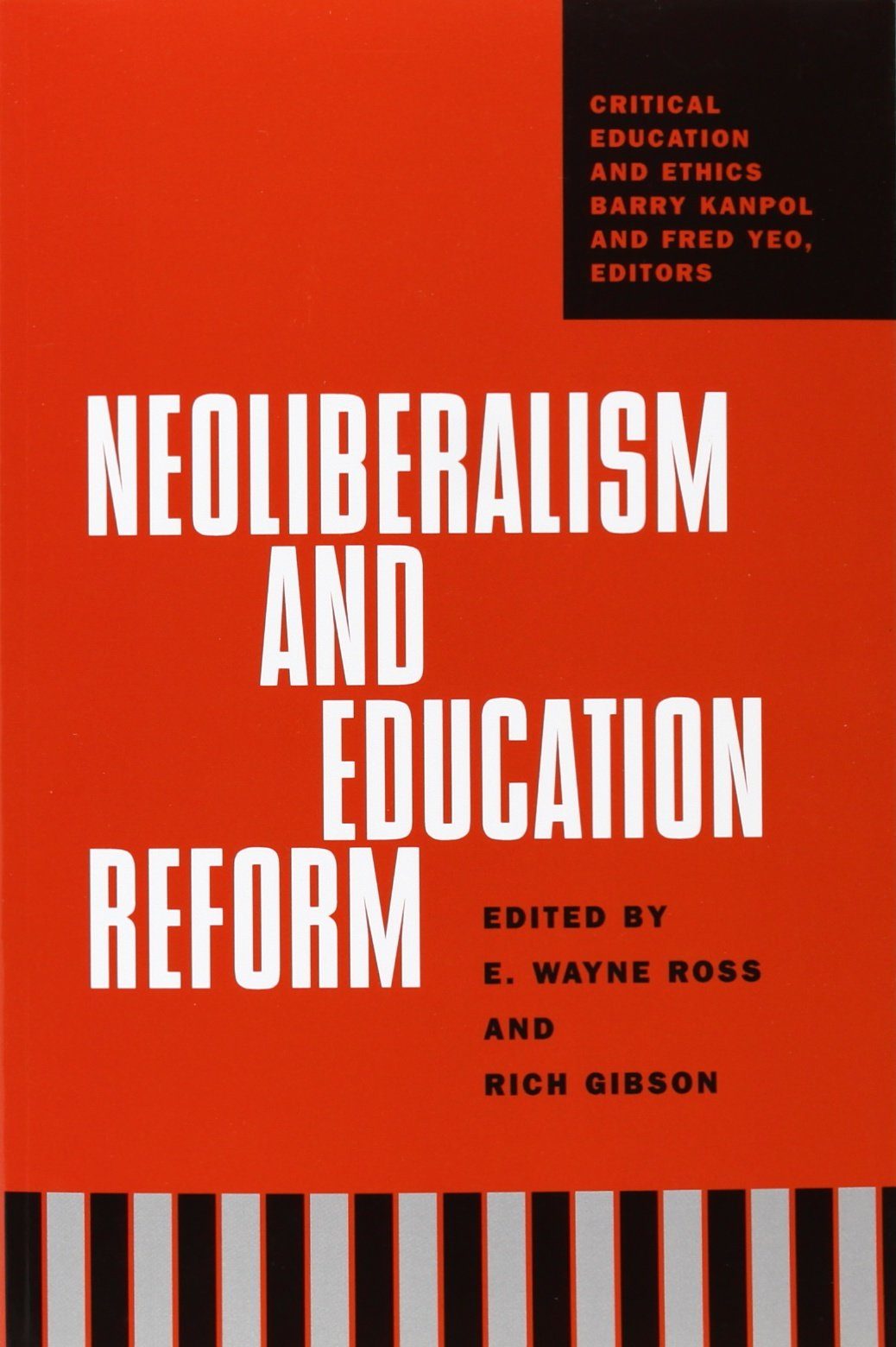 Download Neoliberalism And Education Reform (Critical Education and Ethics) PDF