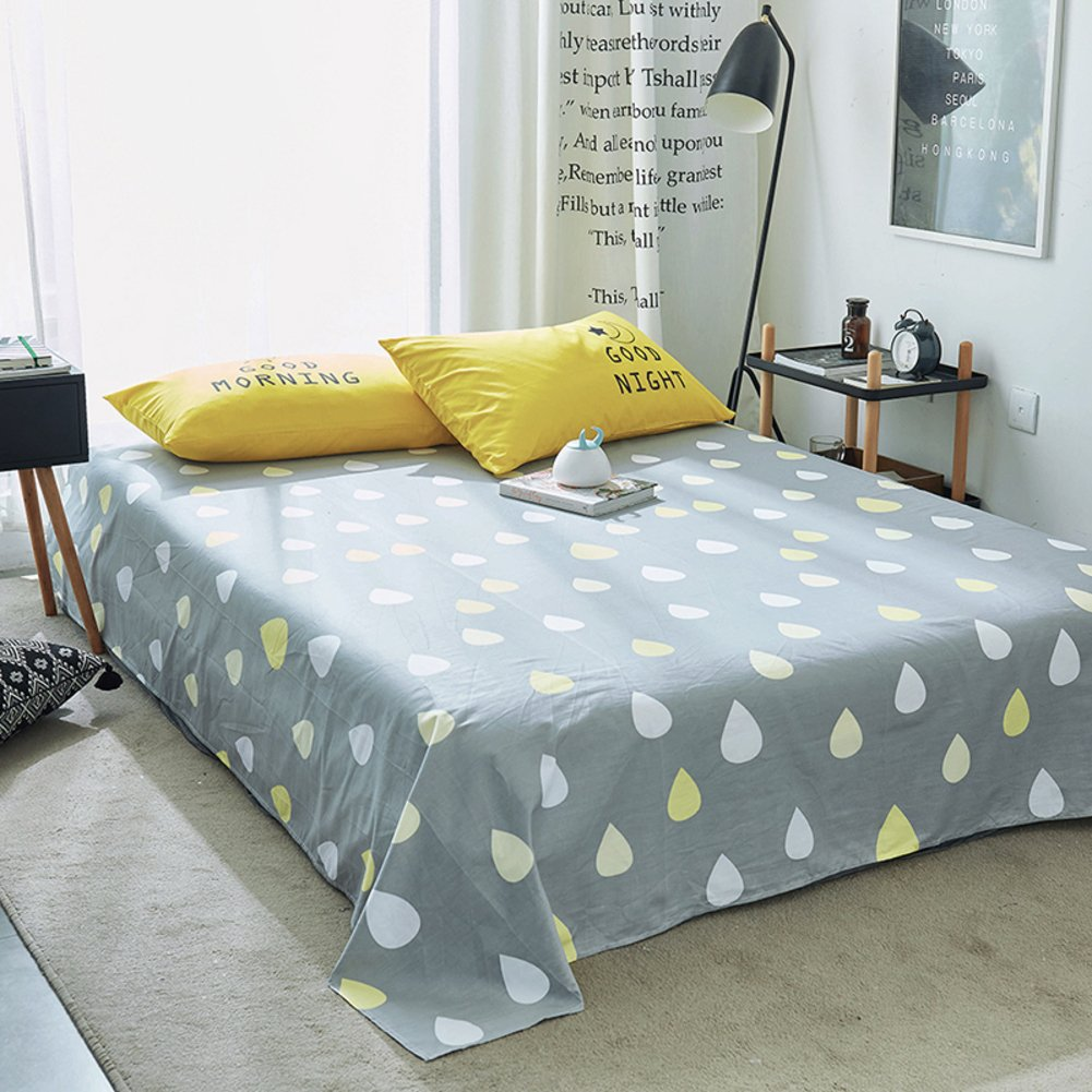 Amazon com: qwert Pure Cotton Sheets Single Student Dormitory Bed