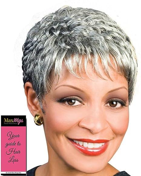 Amazon.com : Naomi Wig Color 1B - Foxy Silver