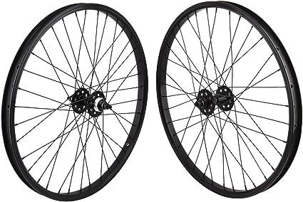 "26/"" x 1.75 BMX Bike WheelSet Front//Rear FreeWheel Alloy Double Wall Bikes"