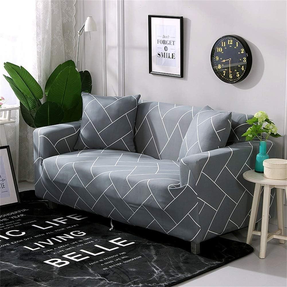Namgiy Housse de Canap/é /Élastique Imprim/é D/écoration Rev/êtement de Canap/é Extensible Sofa Couverture Manchon de Protection