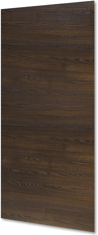 inova Holz-Schiebet/ürblatt Wenge 880x2035 mm T/ür-Blatt Holzt/ür-Blatt Schiebet/ür