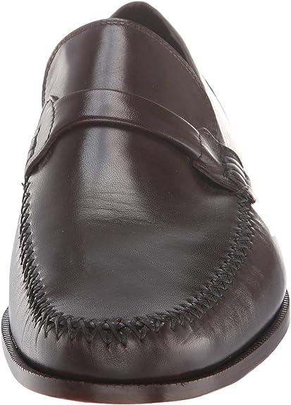 Bruno Magli Porro 2 BM600314 Mens Black Leather Dress Slip On Loafers Shoes