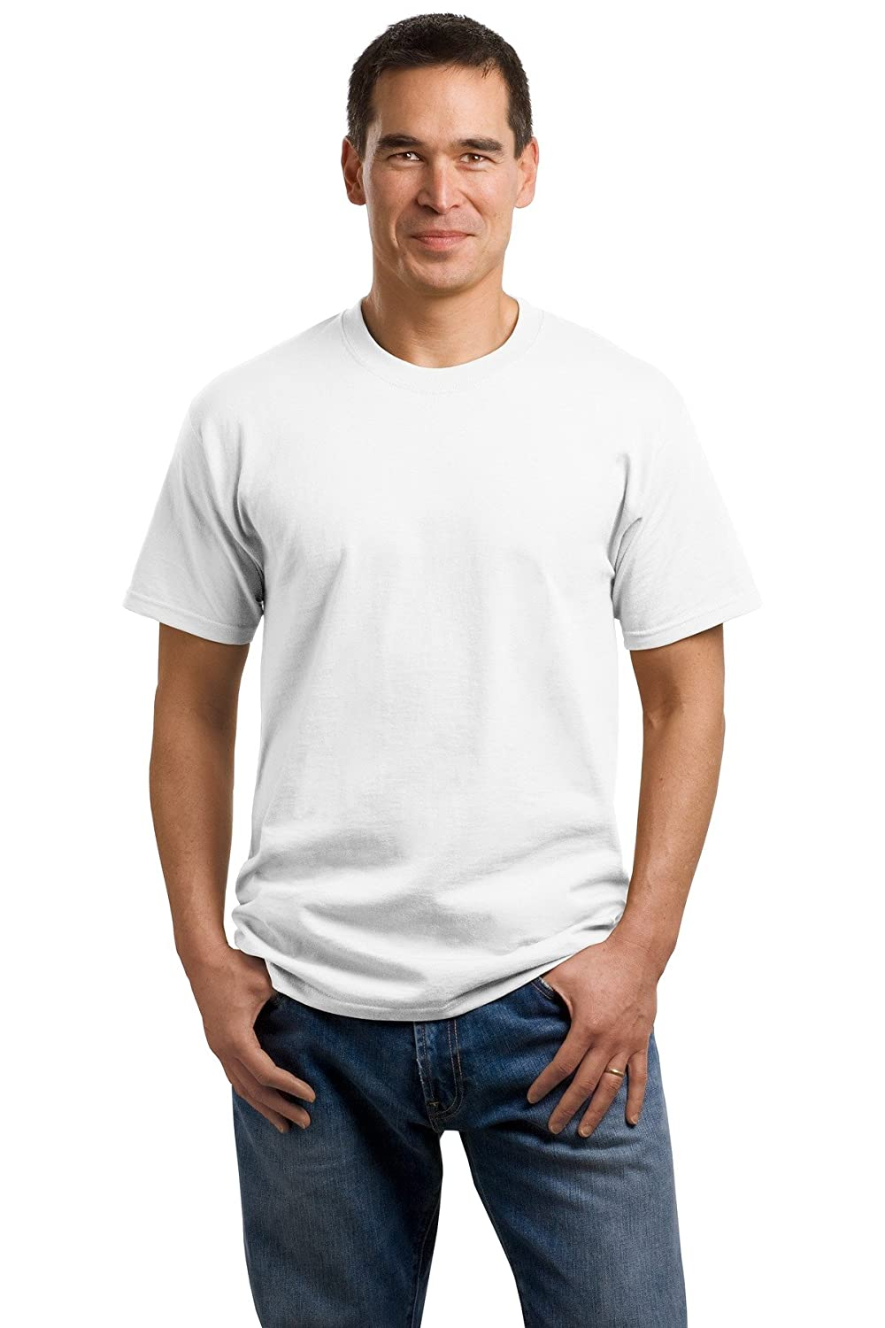 Port /& Company 5.4-oz 100/% Cotton T-Shirt Small White