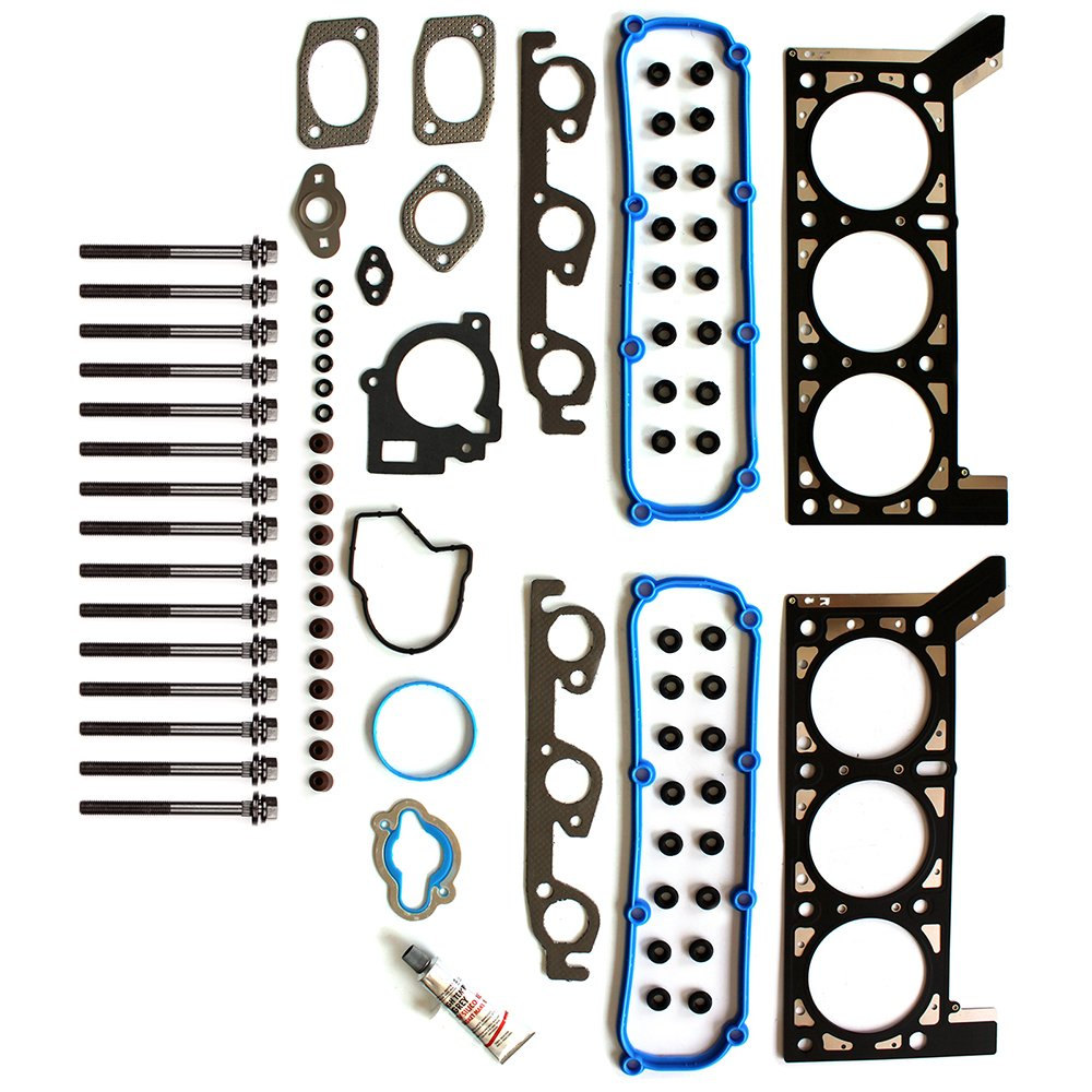 SCITOO Replacement for Head Gasket Set Bolts Chrysler Dodge Volkswagen Routan 3.8L 2004-2010 Engine Head Gaskets Sets Kit