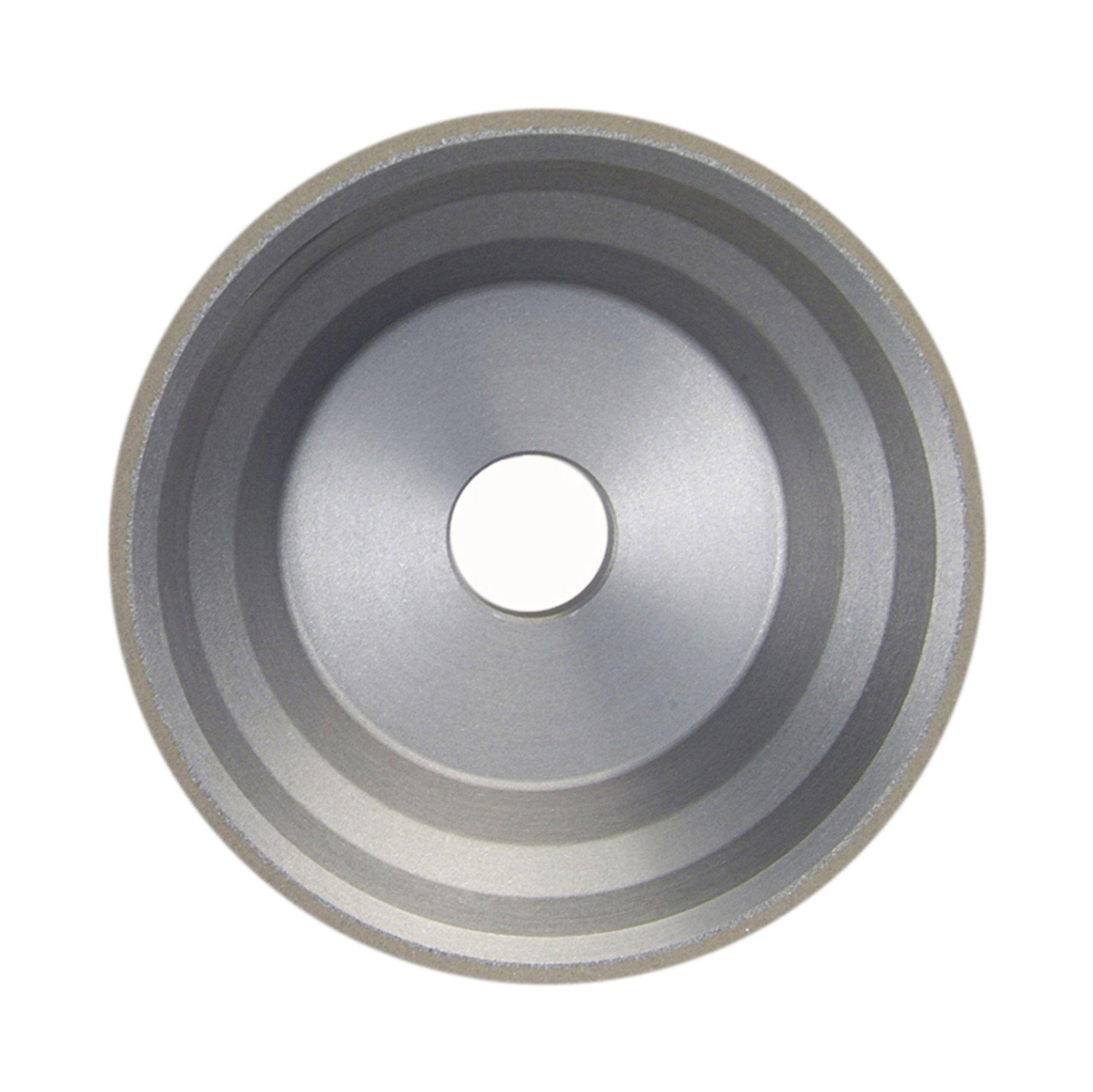 Norton Diamond Wheel 3-3/4'' Diameter 1-1/2'' Width 150 Grit General Application 11V9 Diamond Wheel