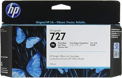 Amazon.com: HP hewb3p23 a 727 cartucho de tinta, negro foto ...