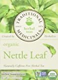 TRADITIONAL MEDICINALS Organic Nettle Leaf, 16 Tea Bags (Pack of 2)