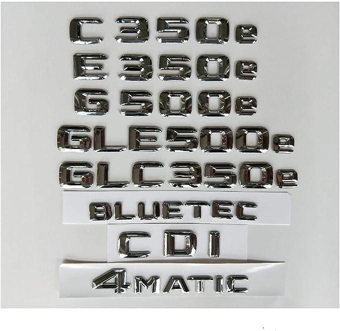 2x Mercedes Benz AMG  Fender Hai Emblem Aufkleber Plakette Badge  Schwarz 3D Neu