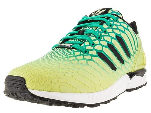 adidas uomini zx flusso scarpa da corsa: adidas: scarpe e borse