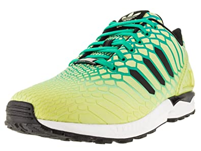 more photos c68ff 1f939 adidas ZX Flux Men s Shoes Frozen Yellow Shock Mint White aq8212 (8 D