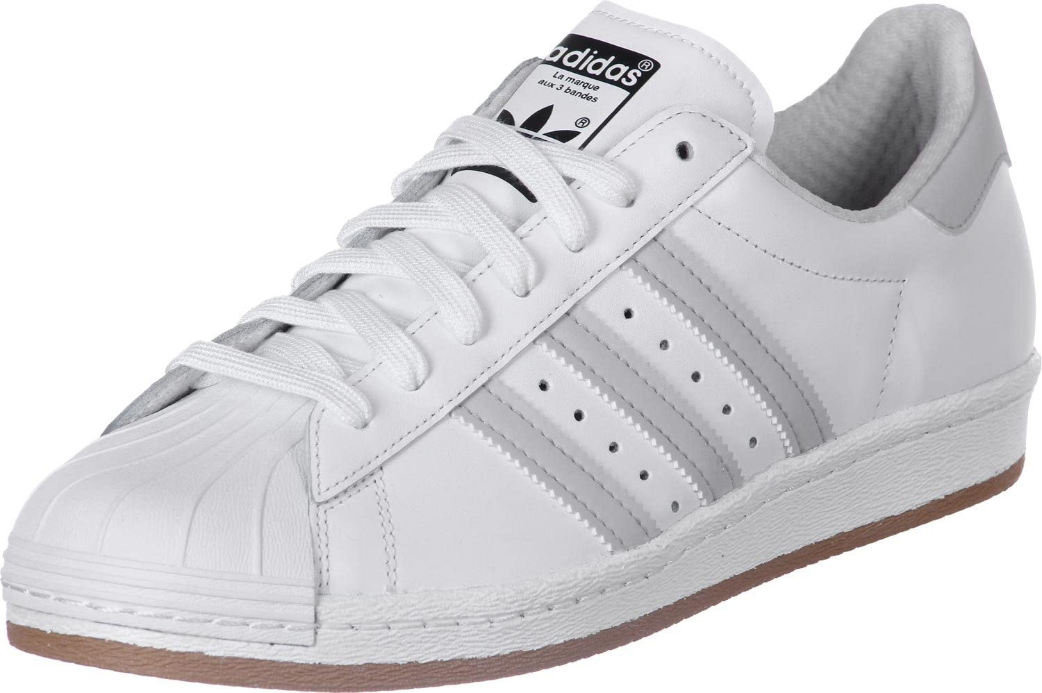 White Leather Men Sneakers Shoes