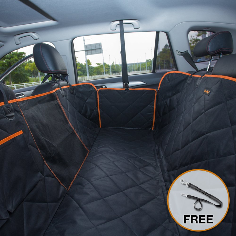 Dog Seat Covers For Trucks >> Details About Ibuddy Pet Seat Cover For Back Seat Of Cars Trucks Suv With Side Flaps Mess