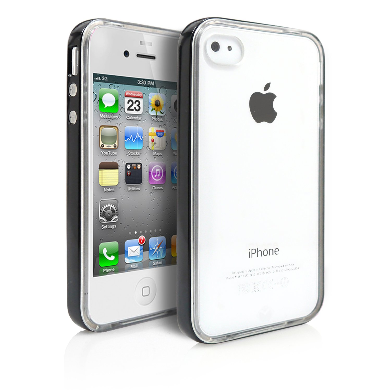 galleon iphone 4 case magicmobile hard flexible clear