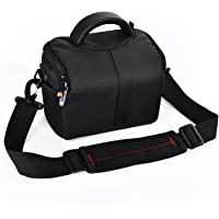 FOSOTO Waterproof Anti-Shock Camera Case Bag Compatible with Canon Powershot SX540 SX530 SX60 SX420 HS M5,Nikon Coolpix…