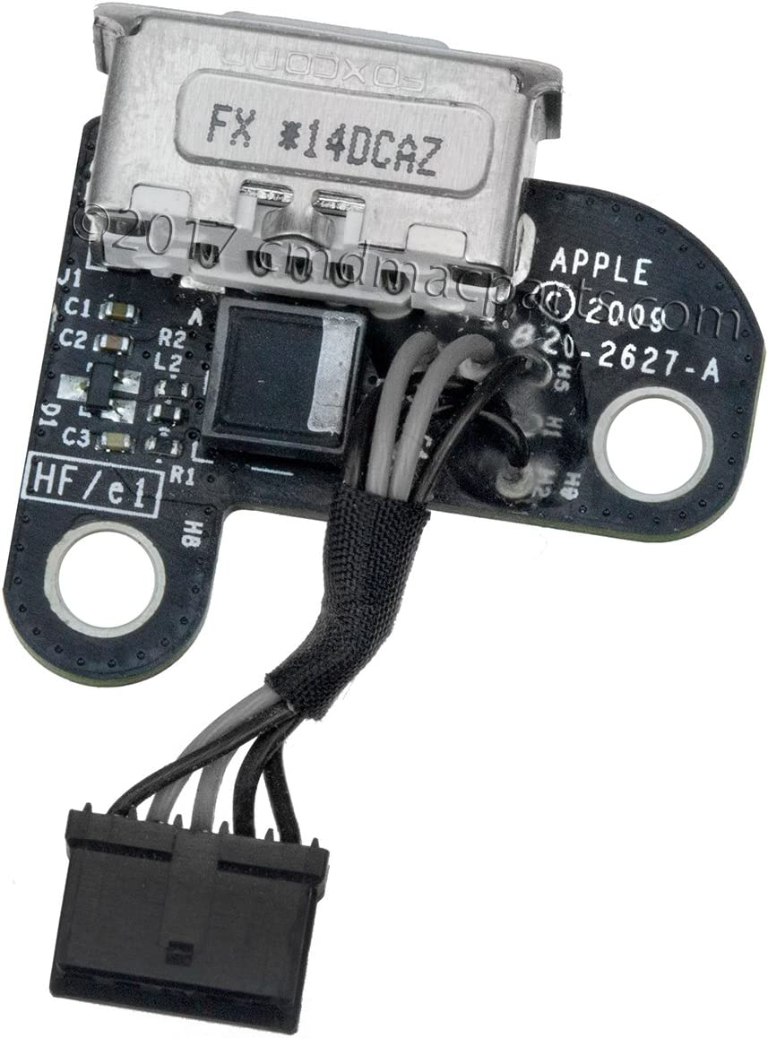 """Odyson - DC-in Power Board Replacement for MacBook 13"""" Unibody A1342 (Late 2009, Mid 2010)"""