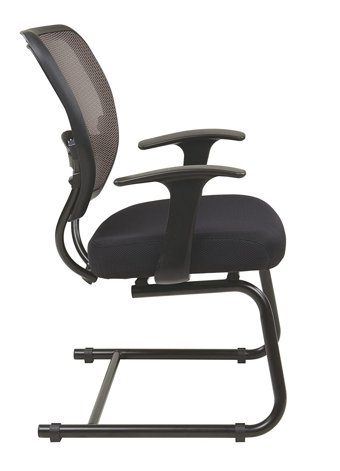 office star professional air grid deluxe task chair. Amazon.com: SPACE Seating AirGrid Latte Back And Black Padded Mesh Seat, 2-to-1 Synchro Tilt Control, Adjustable Arms Tension With Nylon Base Office Star Professional Air Grid Deluxe Task Chair