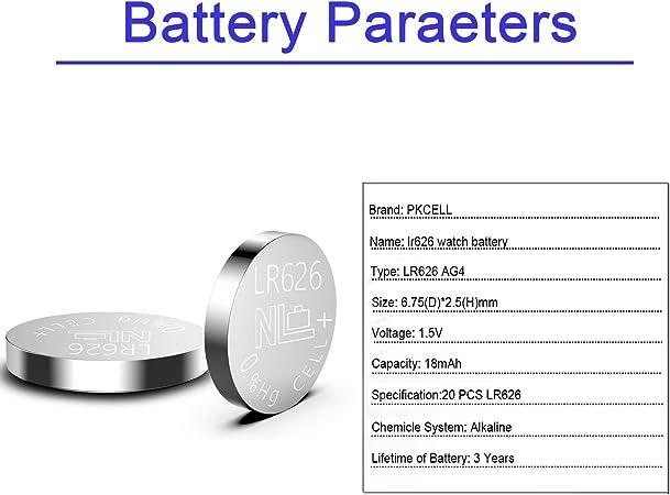 lr626 Batteries//button Cells ag4-377-lr626-lr626-sr62-d377 Details about  /10x Type show original title