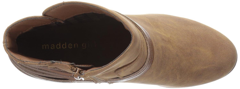 Madden Girl Women's Denice Ankle Bootie B01K28UUK4 9 B(M) US|Cognac Paris