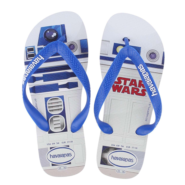 d141c5bd1284 Havaianas Unisex Adults  Stars Wars Flip Flops  Amazon.co.uk  Shoes ...